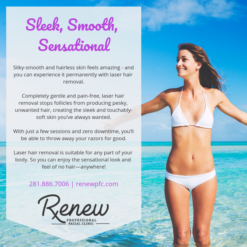 Laser Hair Removal League City Tx Hair Reduction Renew Pfc